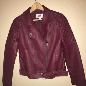 Jack by BB Dakota Faux motorcycle jacket